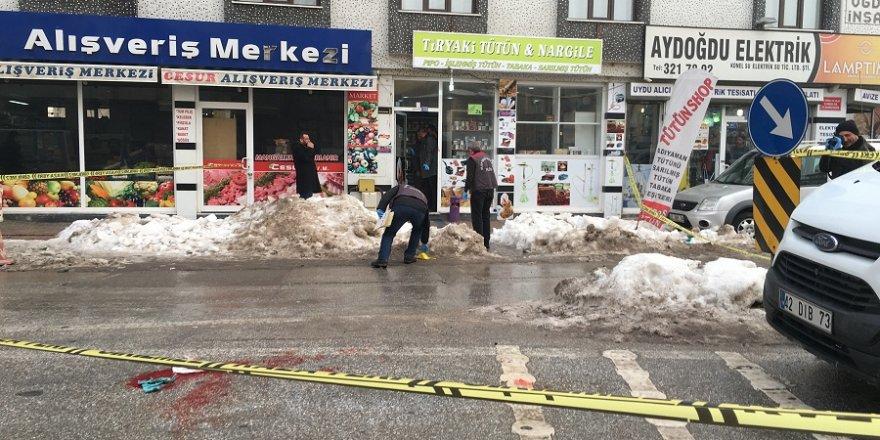 Konya'da silahlı kavga! 1 ölü, 1 yaralı