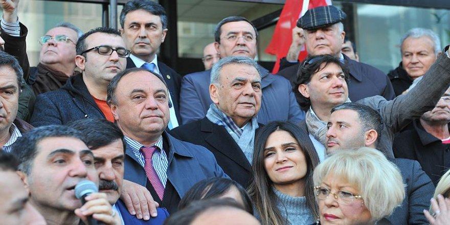 CHP'den İzmir'de anayasa değişikliği teklifine tepki eylemi