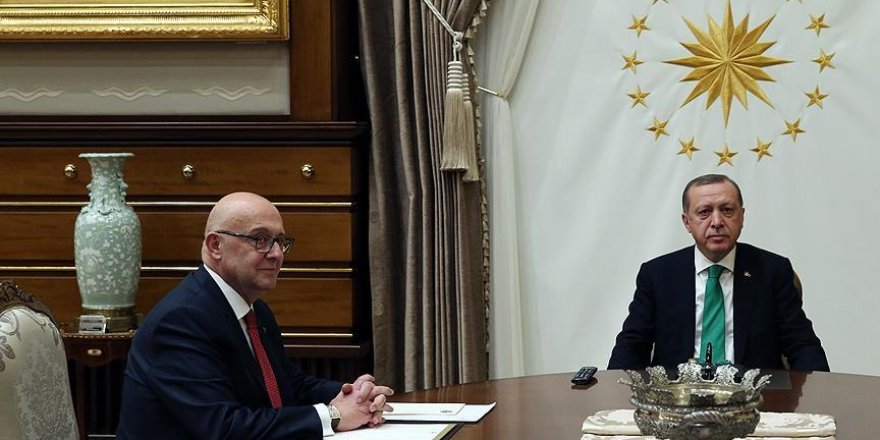 Erdoğan, Şirinoğlu'nu kabul etti