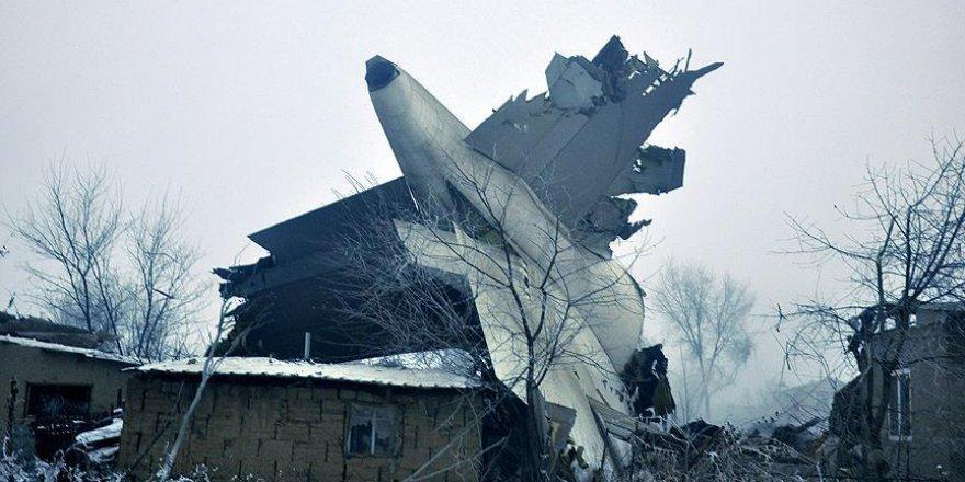 Kırgızistan'da düşen uçağın kara kutuları incelenecek