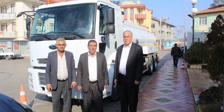Altınekin Belediyesi araç filosunu güçlendiriyor