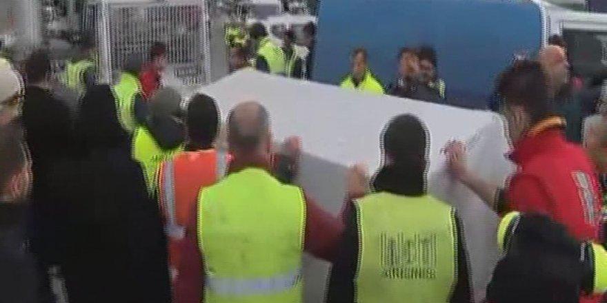 İki pilotun cenazesi Türkiye'de