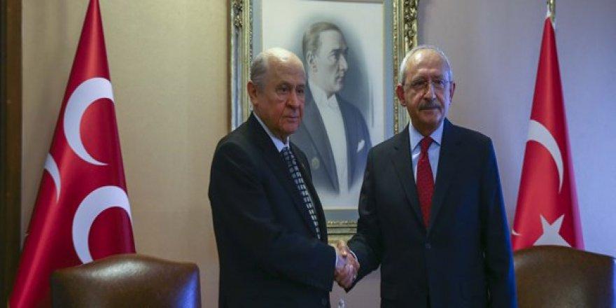 Kılıçdaroğlu'dan Bahçeli ile yaptığı görüşmeye ilişkin açıklama