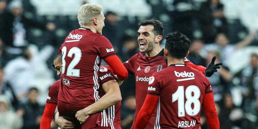 Beşiktaş, Darıca Gençlerbirliği'ni kolay geçti