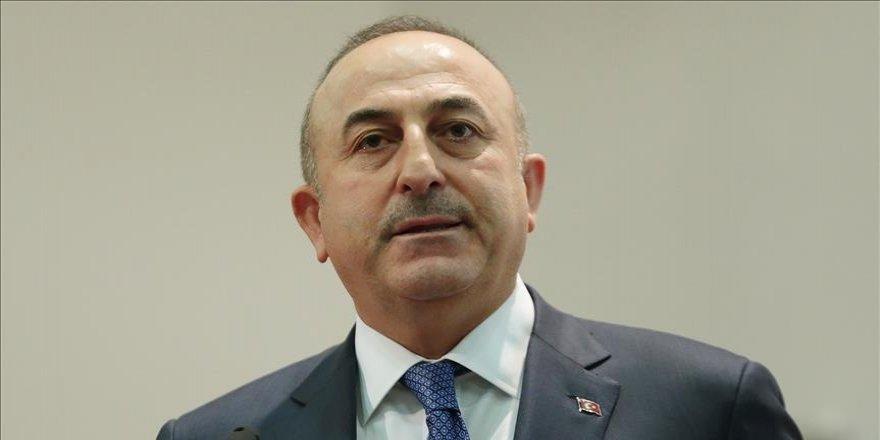 Çavuşoğlu'ndan AP Başkanlığına seçilen Tajani'ye tebrik telefonu