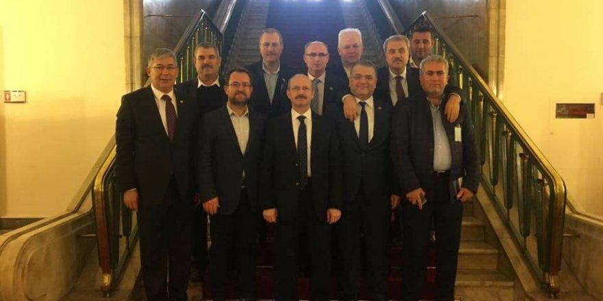 Başkan Karahan'ın Ankara ziyareti