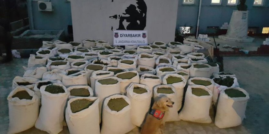 Diyarbakır'da narkoterör operasyonu