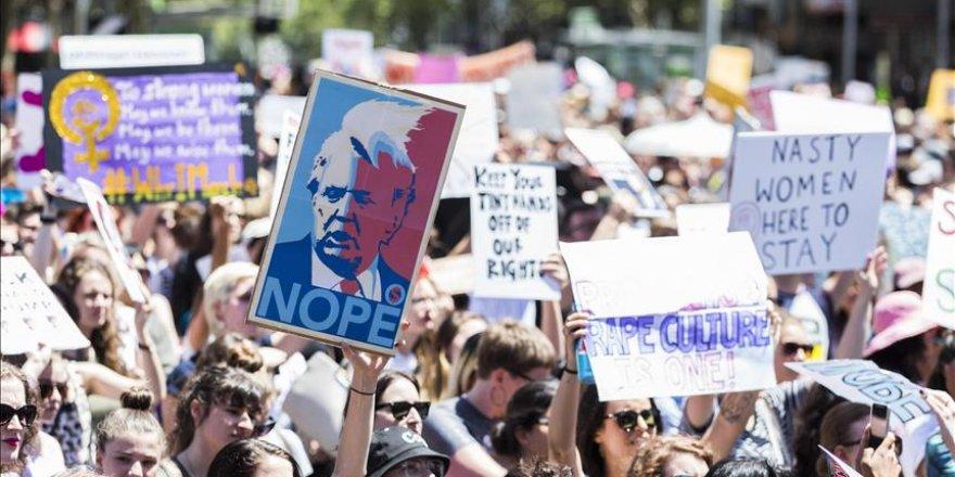 Avustralya'da Trump karşıtı gösteriler
