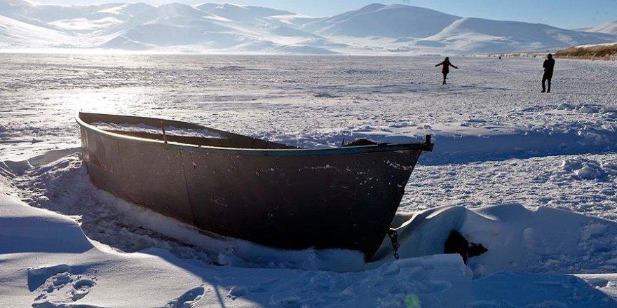 Kars ve Ağrı'da hava sıcaklığı sıfırın altında 17 derece