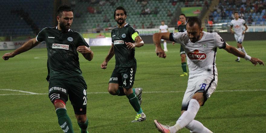 Atiker Konyaspor'un Çaykur Rizespor'la 31.mücadelesi