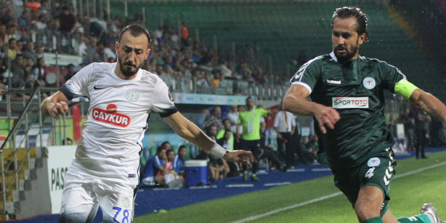 Atiker Konyaspor'da Ali Turan kart cezalısı
