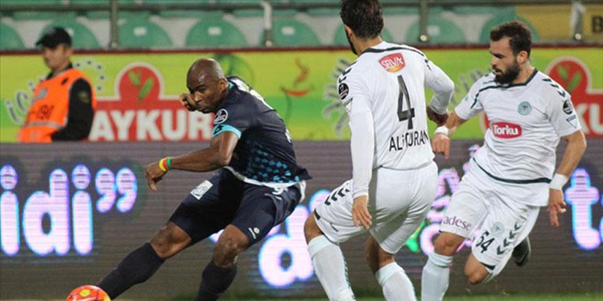 Atiker Konyaspor - Çaykur Rizespor ilk 11'ler belli oldu