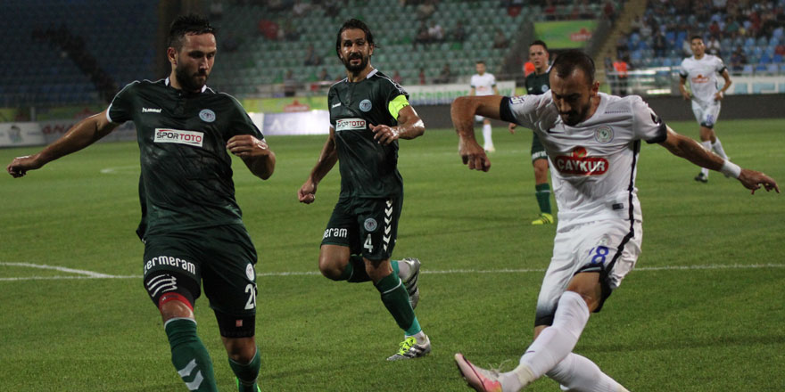 Atiker Konyaspor - Çaykur Rizespor CANLI