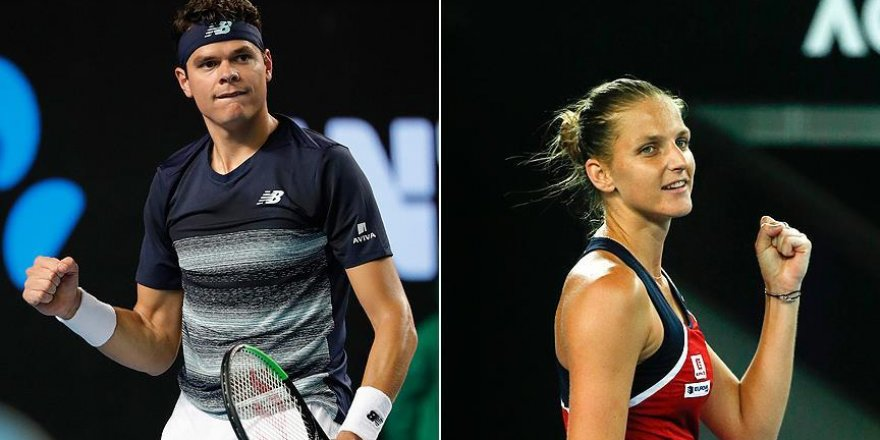 Avustralya Açık'ta Raonic ve Pliskova 4. turda