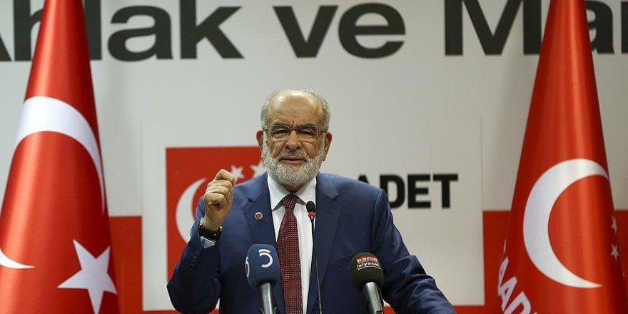 Saadet Partisi Genel Başkanından 'Cumhurbaşkanlığı sistemi' açıklaması
