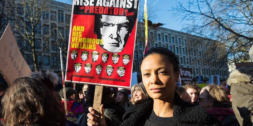 ABD'deki 'Kadınlar Yürüyüşü'ne dünyadan destek