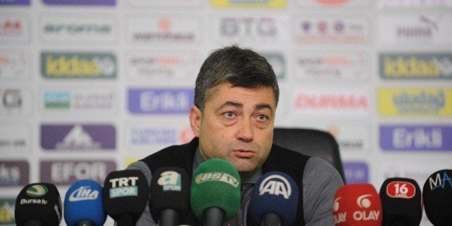 Levent Şahin'den Bursaspor değerlendirmesi