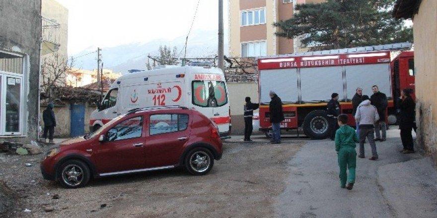 Sobadan çıkan yangında 1 kişi yaralandı