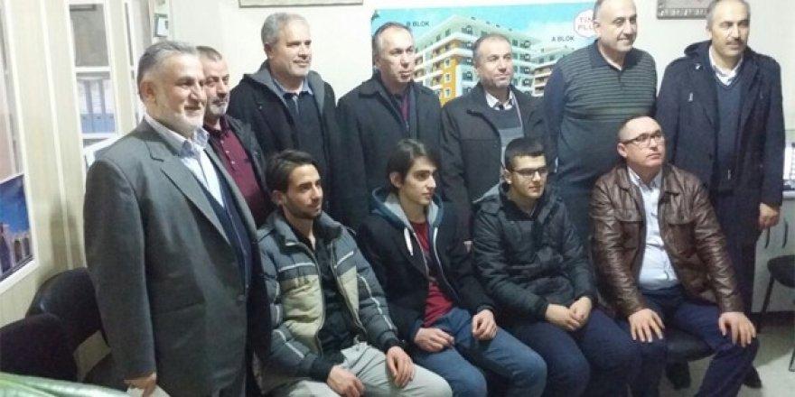 Bozkır'da başarılı öğrencilere Umre ödülü