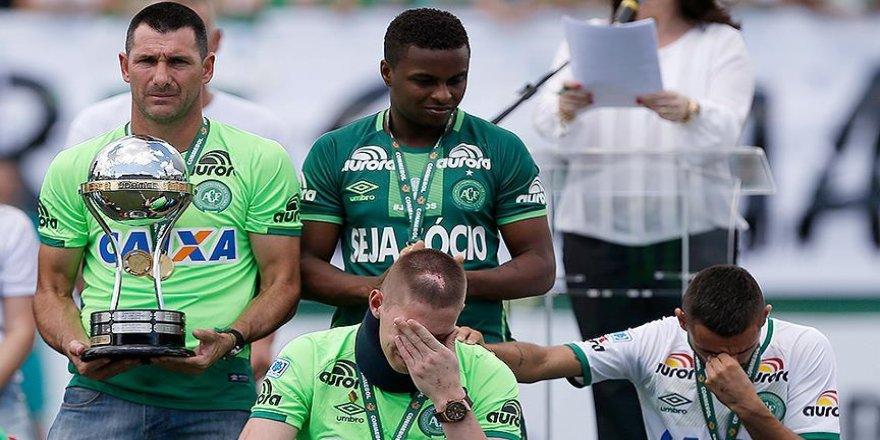 Chapecoense kazadan sonra ilk maçına çıktı