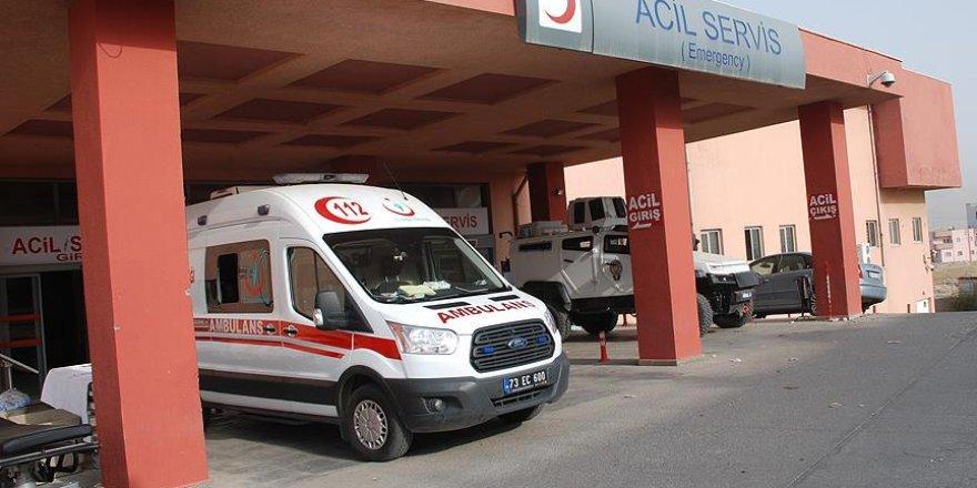 Şırnak'ta el yapımı patlayıcıyla oynayan iki çocuk yaralandı