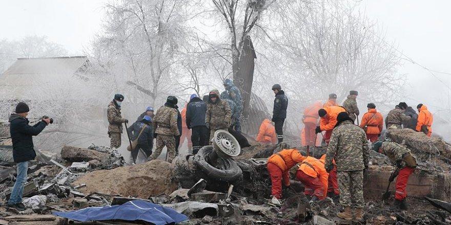 Kırgızistan'daki uçak kazasında ölenlerin sayısı 39'a yükseldi