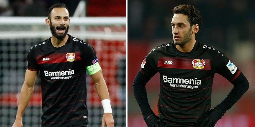 Leverkusen, Ömer ve Hakan'ın golleriyle kazandı