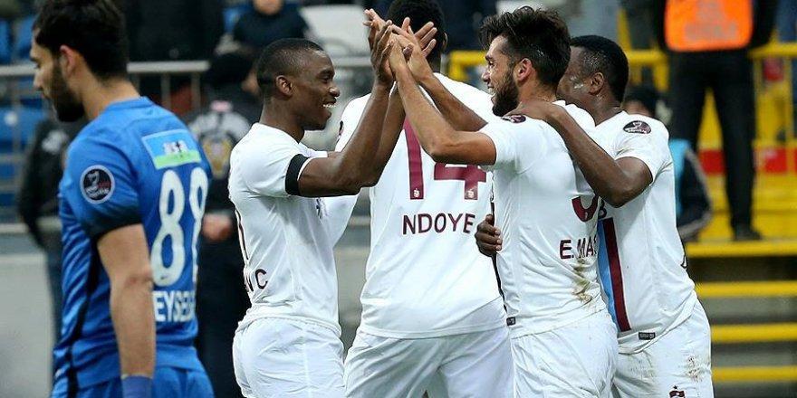 Trabzonspor deplasmanda gülüyor