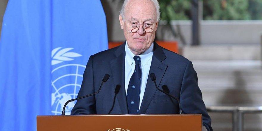 Mistura Suriyeli muhalif grupların temsilcileriyle görüşecek