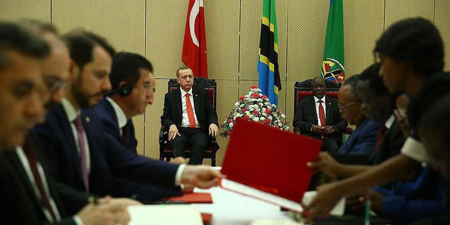Türkiye ile Tanzanya arasında işbirliği protokolü
