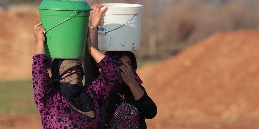 Suriye'de milyonlarca insanın suya erişimi yok