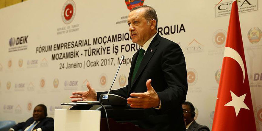 Erdoğan: Biz Afrika'yı kimlerin sömürdüklerini gayet iyi biliriz