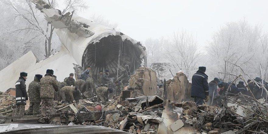 Kırgızistan'da uçağın düşme nedeni 4 ay sonra açıklanacak
