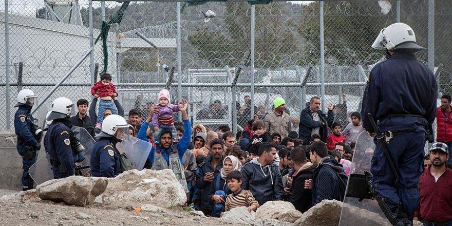 Sığınmacılar Yunanistan'daki kamplarda güvende hissetmiyor
