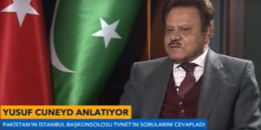 Pakistan Başkonsolosu'nun tüyleri diken diken eden Türkiye anısı