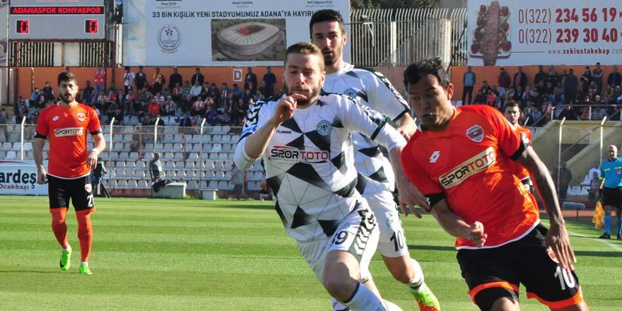 Atiker Konyaspor, Adanaspor'u devirdi: 0-1