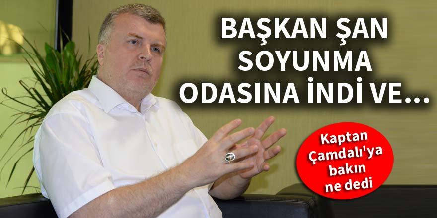 Konyaspor Başkanı Ahmet Şan soyunma odasına indi ve...