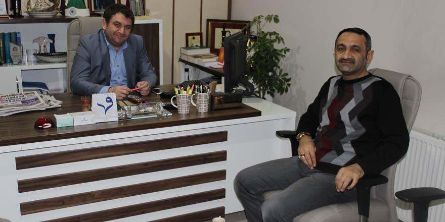 Cemil Paslı'dan Lokman Koyuncuoğlu'na veda ziyareti