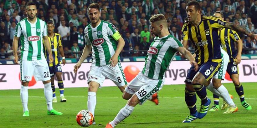 Fenerbahçe 2-3 Atiker Konyaspor