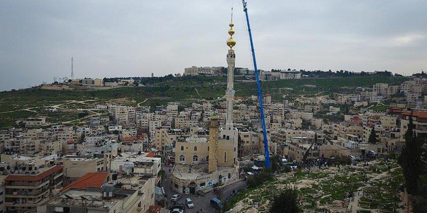 Kudüs'te kentin en yüksek minaresi inşa edildi