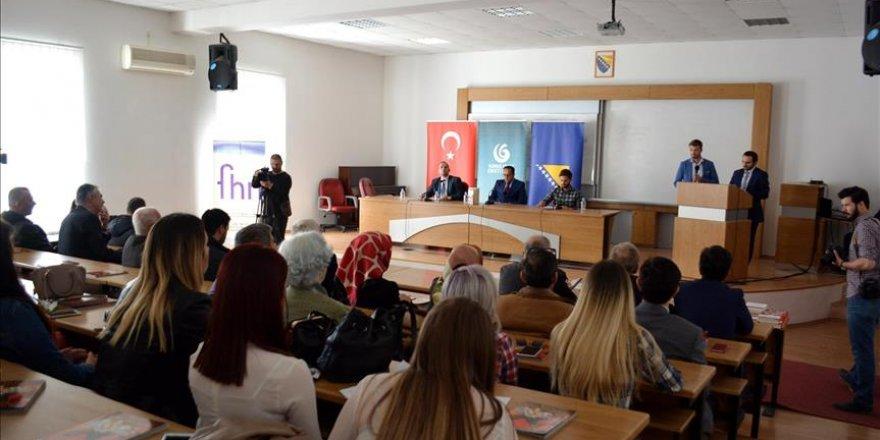 Bosna Hersek'te Çanakkale Savaşı konferansı düzenlendi