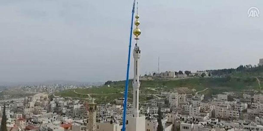 İsrail'in ezan yasağına Filistinlilerden cevap