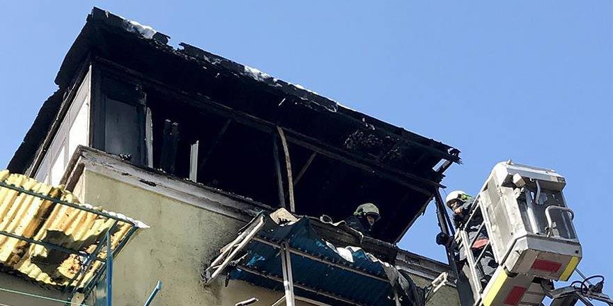 Çıkan yangında 3 çocuk öldü!