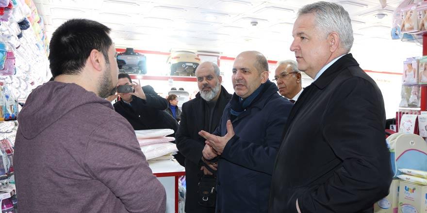 AK Partili Baloğlu, referandum çalışmalarını sürdürüyor