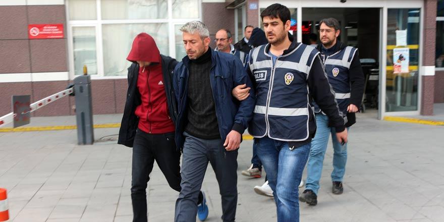 Konya'da şeker hırsızları tutuklandı!