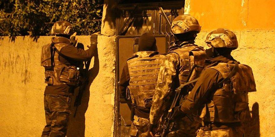 PKK'nın şehir yapılanmasına yönelik operasyonlar