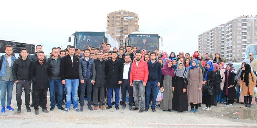 Konya AK Gençlik'ten Çanakkale'ye çıkarma