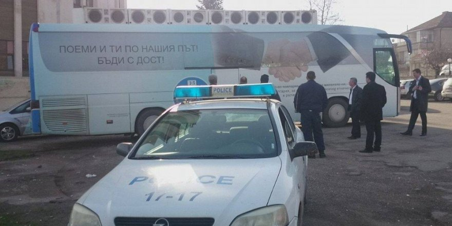 Bulgaristan'da Türk partisinin seçim otobüsüne saldırı