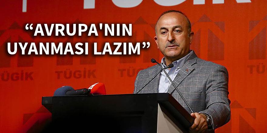 Dışişleri Bakanı Mevlüt Çavuşoğlu: Avrupa'nın uyanması lazım