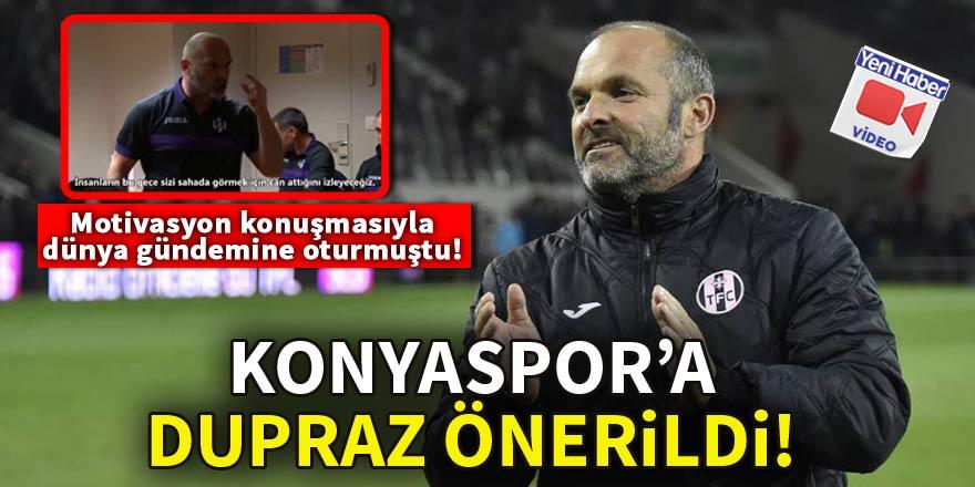 Konyaspor'a Dupraz önerildi